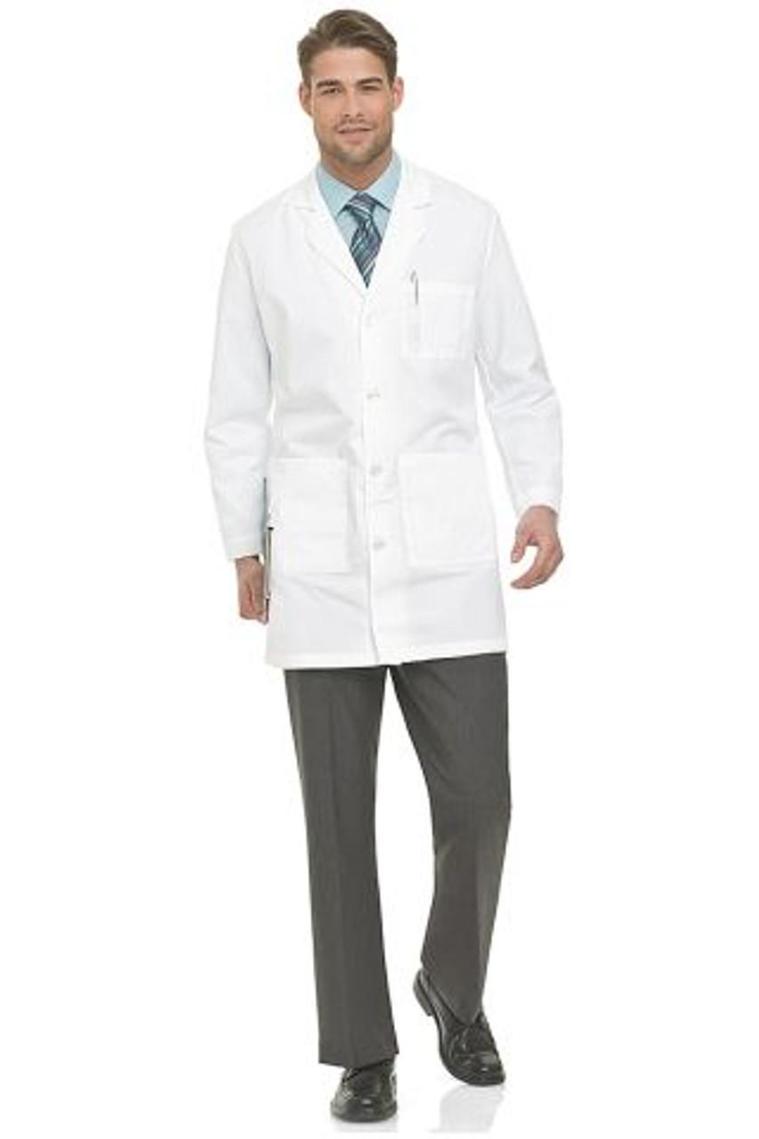 3124 Landau Lab Coats - Men's Lab Coat Performance Twill | Jens Scrubs