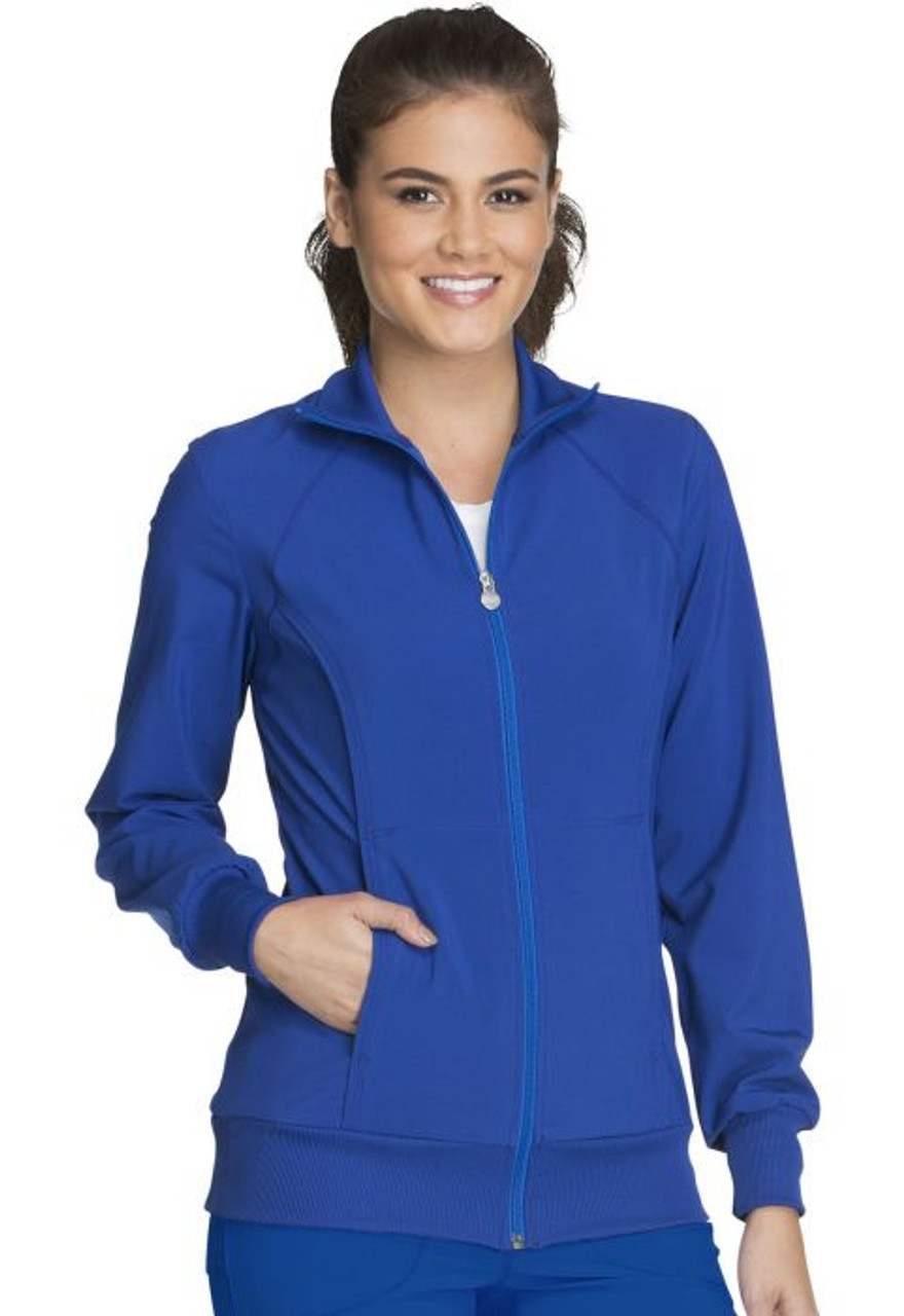 (2391A) Infinity by Cherokee Scrubs - Zip Front Warm-Up Jacket