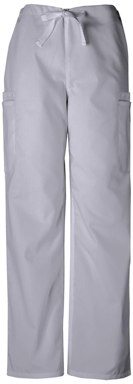 Scrubs Cherokee Workwear Men/'s Drawstring Cargo Pant Tall 4100T WHTW White