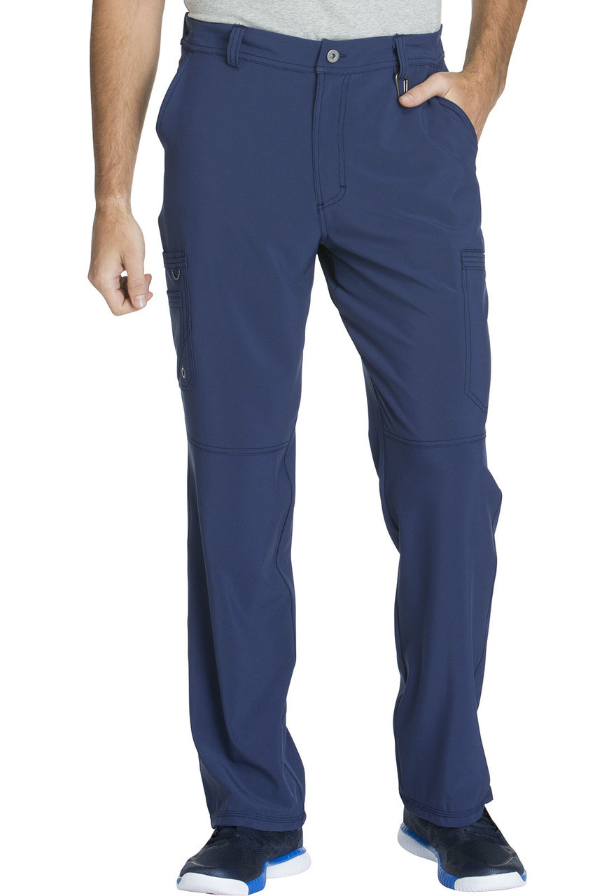 (CK200A) Infinity by Cherokee Scrubs - Mens Fly Front Pant