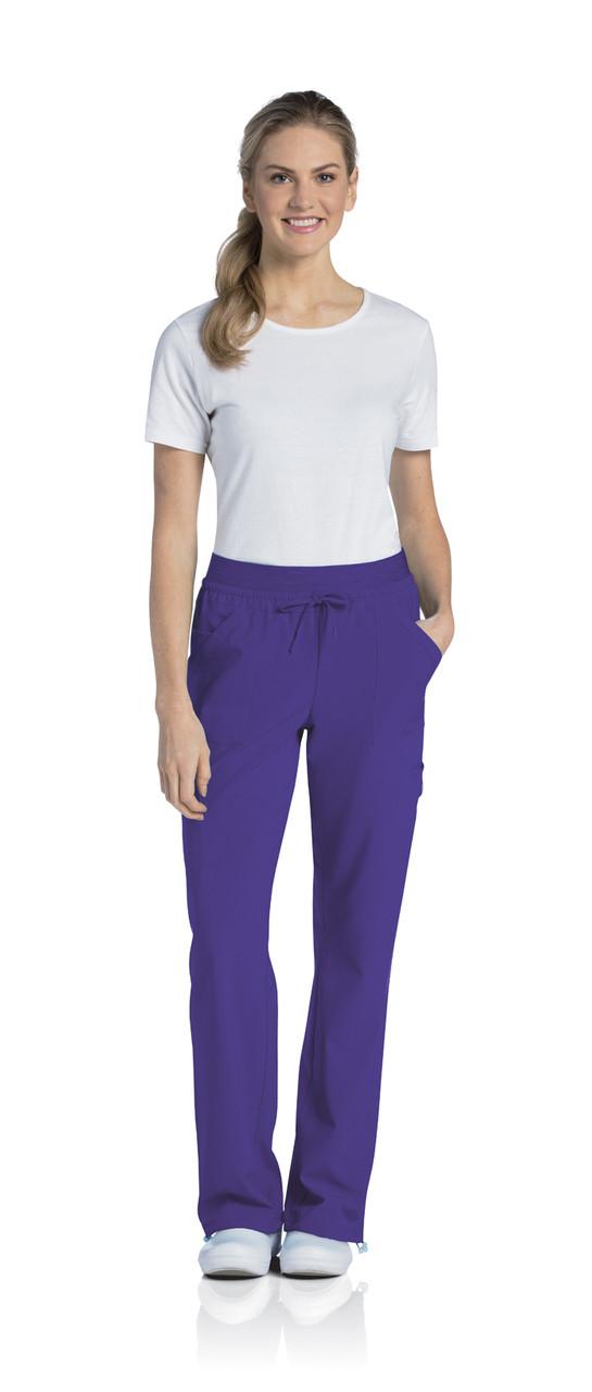 (9324P) Urbane Quick Cool Scrubs - Knit Waist Cargo Jogger Pant (Petite)