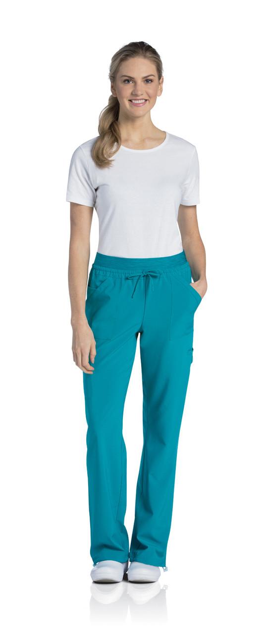 (9324T) Urbane Quick Cool Scrubs - Knit Waist Cargo Jogger Pant (Tall)