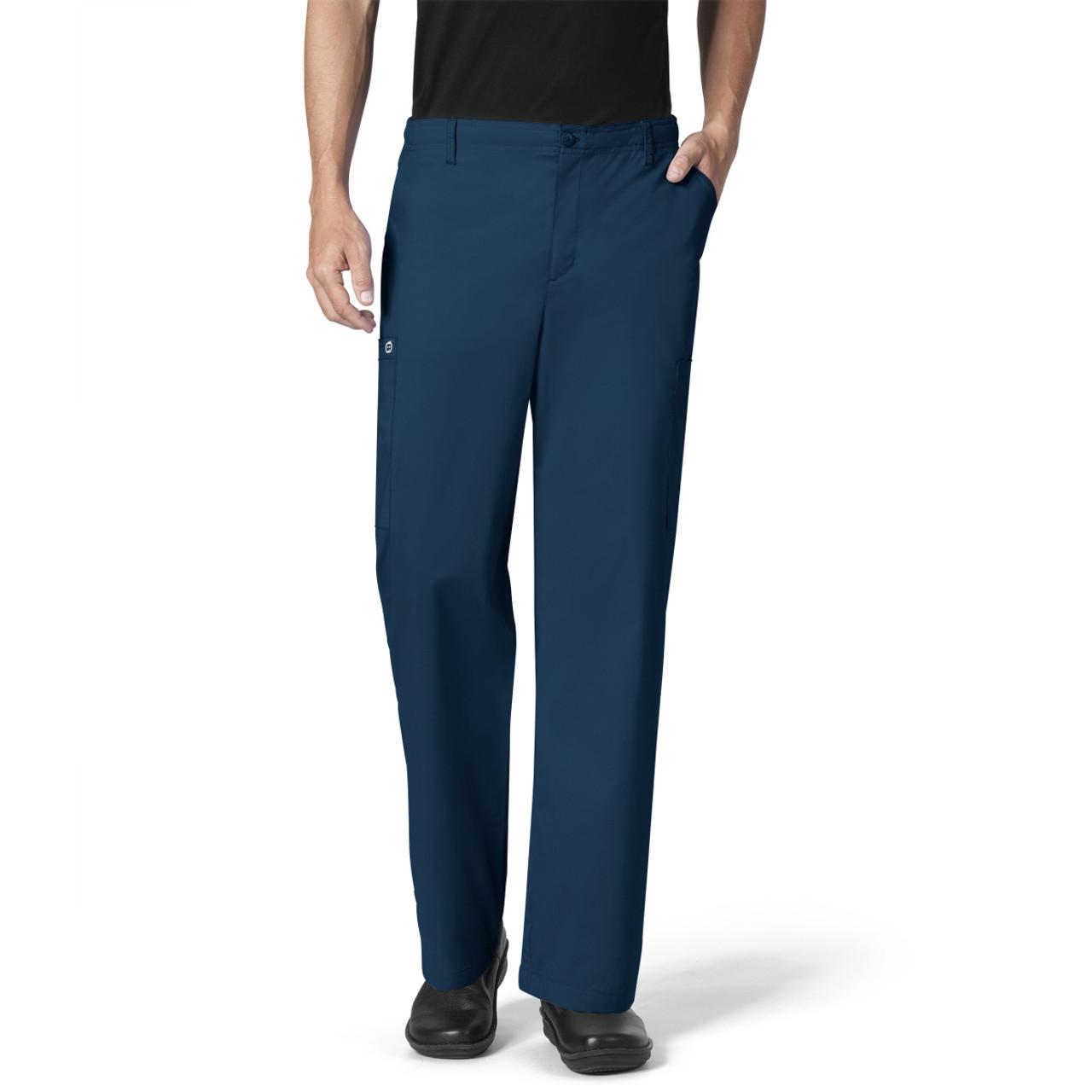 0d91032ceeea (503S) WonderWink WonderWORK Mens Cargo Scrub Pants (Short) ...
