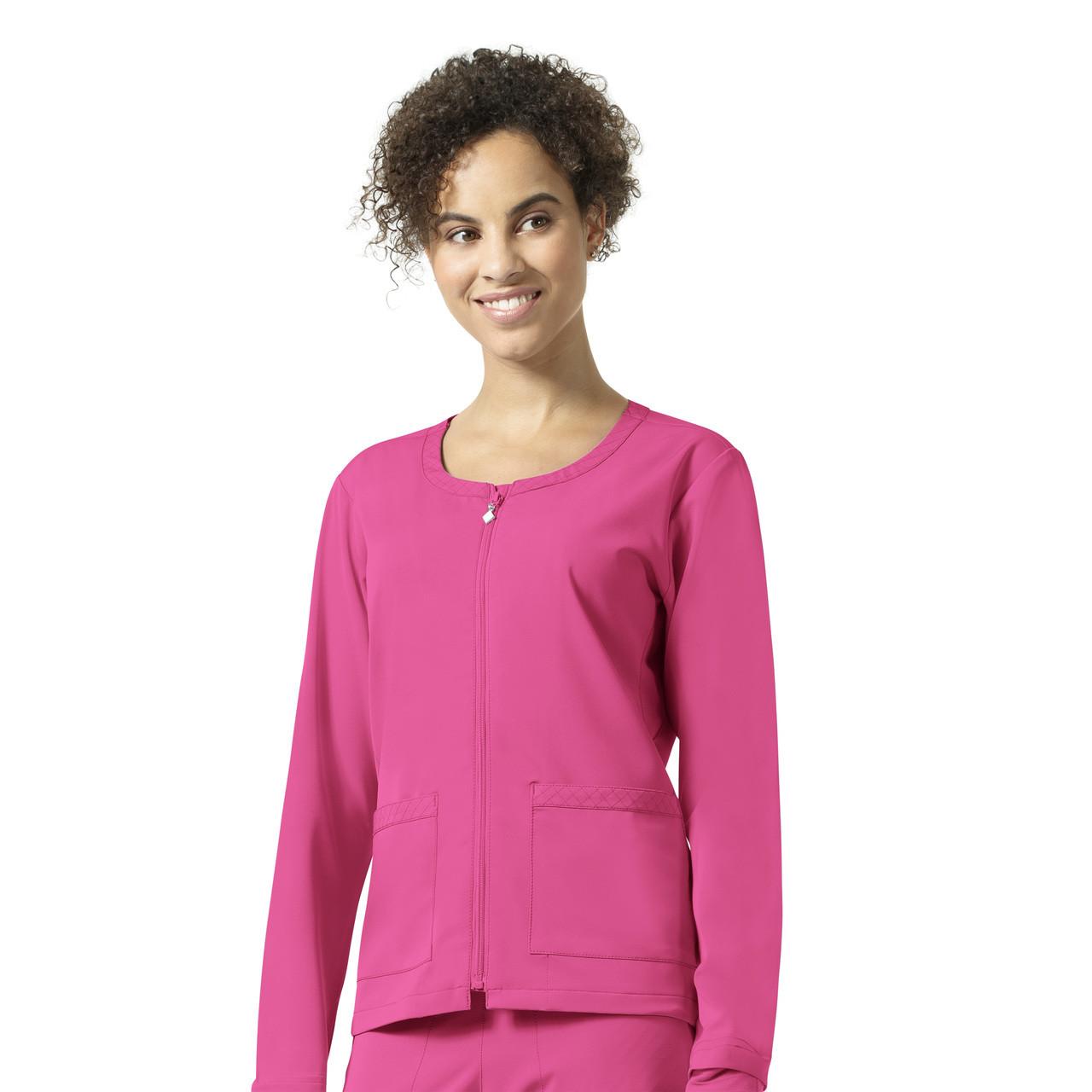 (V8109) Vera Bradley Halo Julia Zip Front Quilted Warm Up Jacket