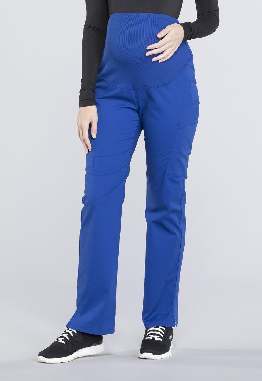 Cherokee Workwear Professionals WW220 Womens Maternity Soft Knit Waistband Scrub Pant
