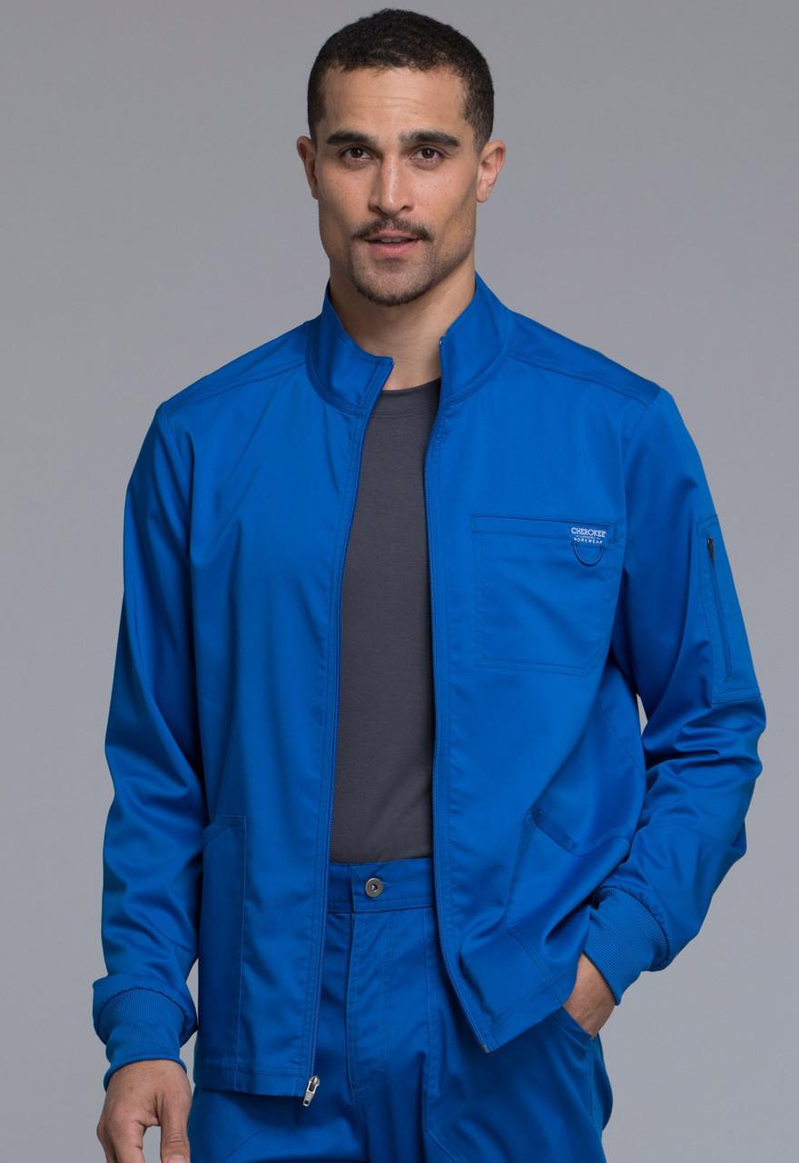 b239e64d384 (WW320) Cherokee Workwear Originals Revolution Men's Zip Front Jacket ...