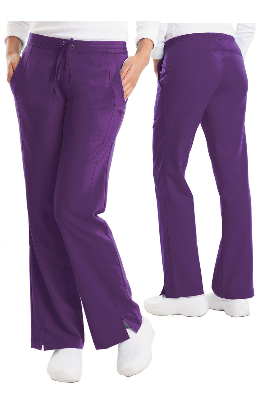 (9095P) Healing Hands Purple Label Taylor Drawstring Scrub Pant - Petite