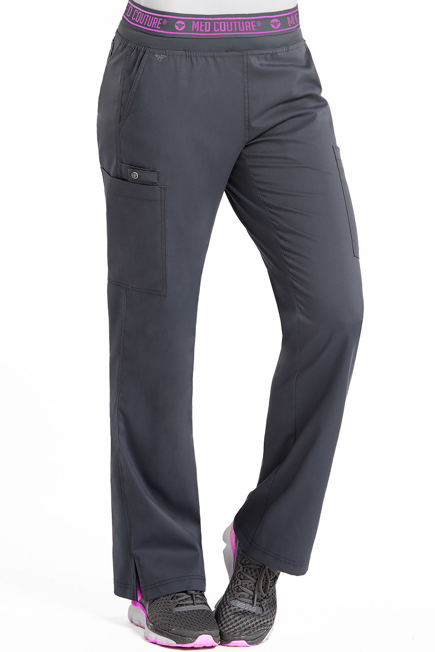 d1cb5d144ac 7739) Med Couture Touch Yoga 2 Cargo Pocket Scrub Pant | Jens Scrubs