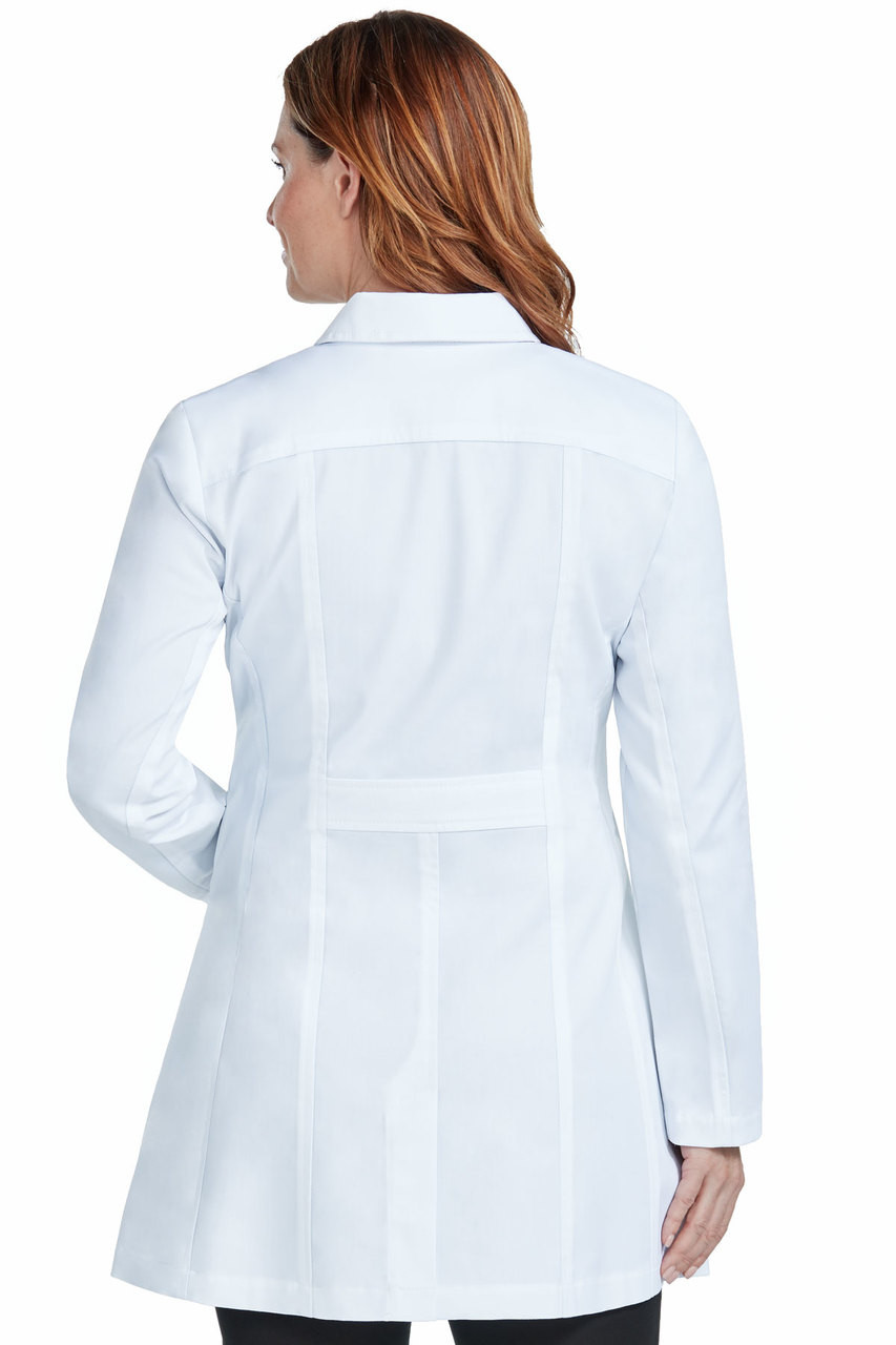 fc04a3cdfbc 9632) Med Couture Boutique Tailored Length 36 inch Lab Coat - Jen's ...