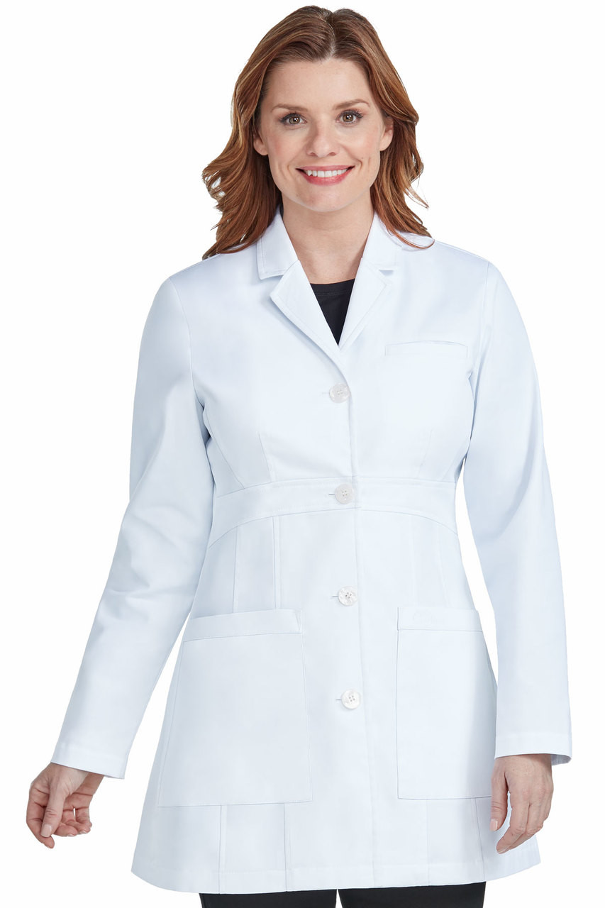 f66d0592b9f 9632) Med Couture Boutique Tailored Length 36 inch Lab Coat - Jen s ...
