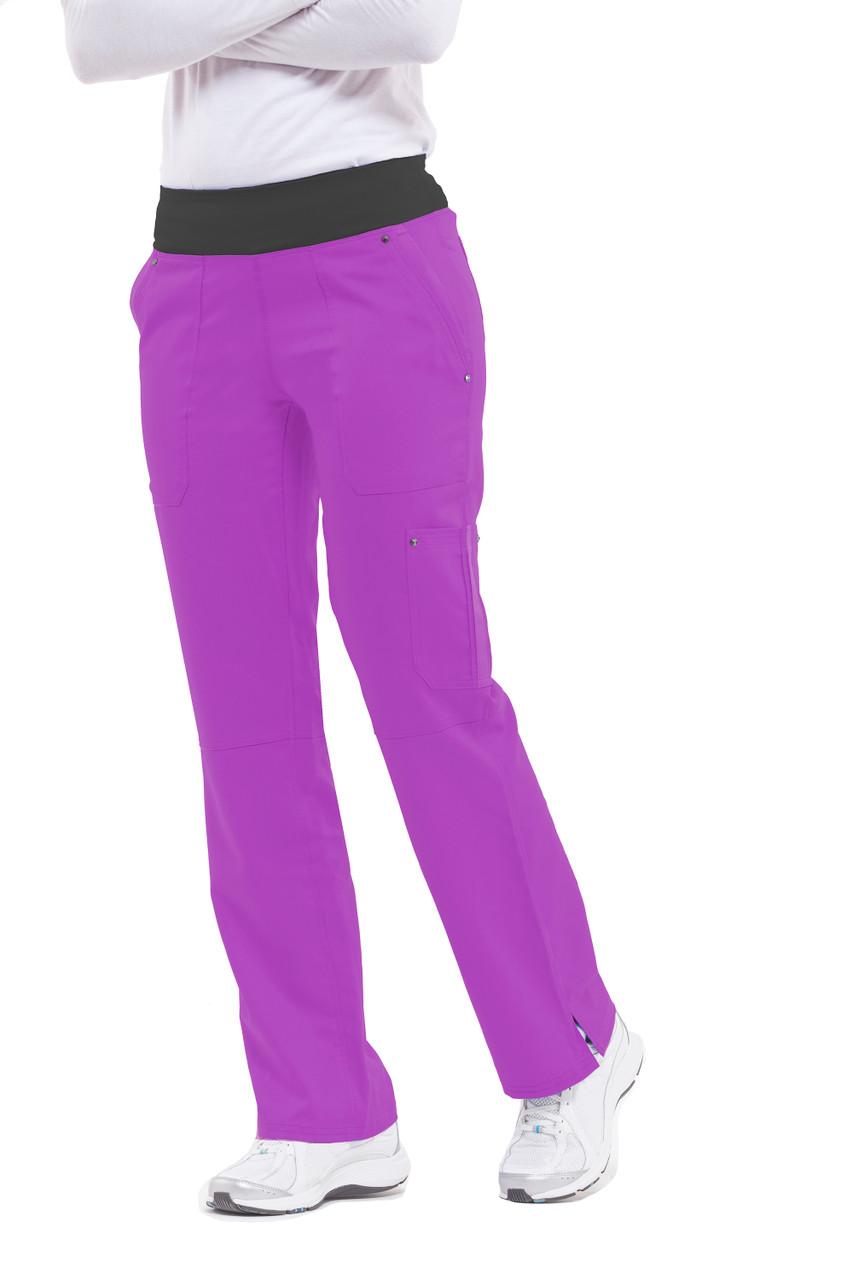 (9133T) Healing Hands Purple Label Tori Yoga Scrub Pant (Tall)