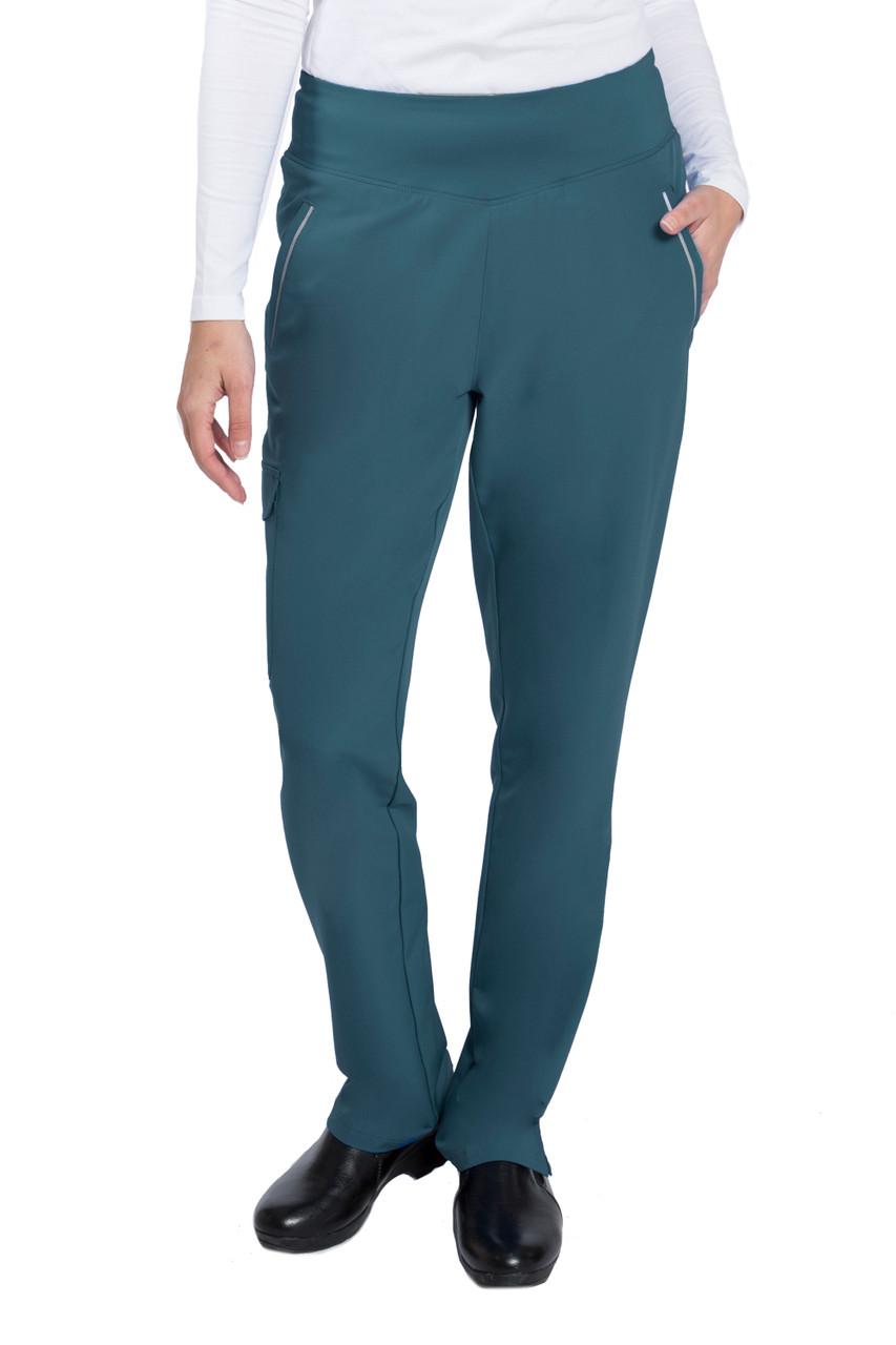 (9155P) Naomi Elastic Waist Cargo Pants