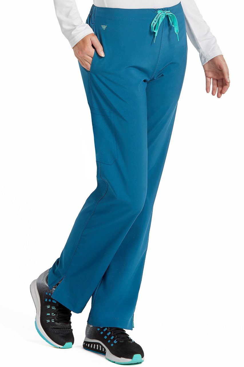 (8719) Med Couture Energy Scrubs - Women's 1 Cargo Pocket Pant