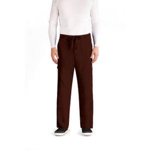(0203) - Grey's Anatomy Men's 6 Pocket Drawstring Waist Scrub Pant
