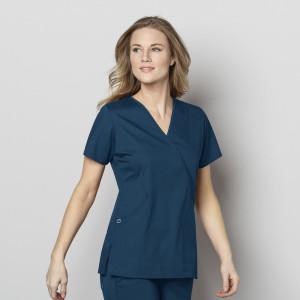 ae7f9200b5b 4153) - Grey's Anatomy Scrubs - 3 Pocket Mock Wrap Scrub Top | Jens ...