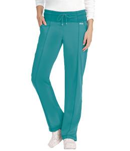 (4276P) Grey's Anatomy 4 Pocket Yoga Knit Waistband Scrub Pant (Petite)