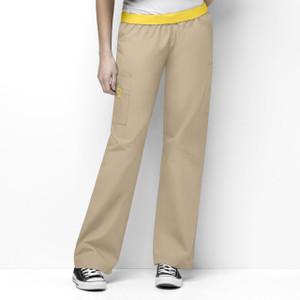 (5016T) WonderWink Originals Scrubs - Womens Quebec Full Elastic Cargo Pant (Tall)