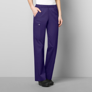 (501P) WonderWORK Scrubs - Womens Elastic Waist Pant (Petite)