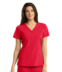 (5105B) Barco One  Scrubs 4-pocket Fashion Scrub Top