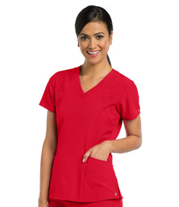 (5106) Barco One 5-pocket Sporty V-neck Scrub Top