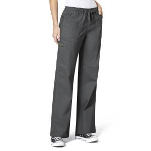 (5108P) WonderFLEX Scrubs - Faith Multi-Pocket Cargo Pant (Petite)