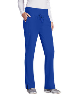 (5206P) Barco One Knit Waistband 5 Pocket Scrub Pant (Petite)