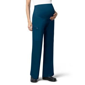 (545) WonderWORK Scrubs - Womens Maternity Cargo Pant