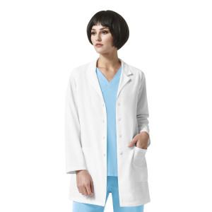 (7112) WonderWink High Performance Women's Luna - Lab Coat With Zip Pocket