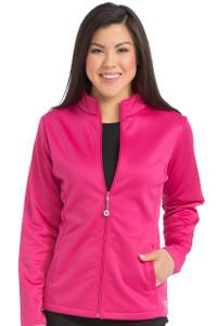 (8684) Med Couture Activate Scrubs - Bonded Fleece Med Tech Zip Jacket