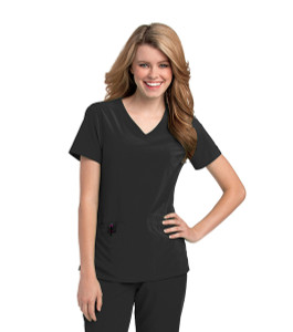 (9015) Urbane Performance Scrubs - Motivate V-Neck Top