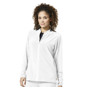 bad35852ed9 (C82310) Carhartt CROSS-FLEX Scrubs - Zip Front Jacket