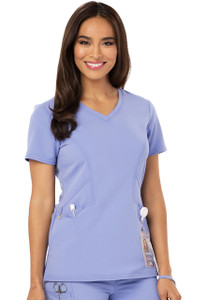 1487ef46bd8 (CA601) Careisma by Sofia Vergara Scrubs - V-Neck Top