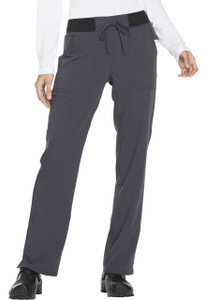 (DK112) Dickies Xtreme Stretch Mid Rise Straight Leg Drawstring Pant
