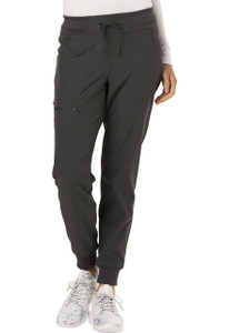 """(HS030T) HeartSoul Break on Through Scrubs """"The Jogger"""" Low Rise Tapered Leg Pant (Tall)"""