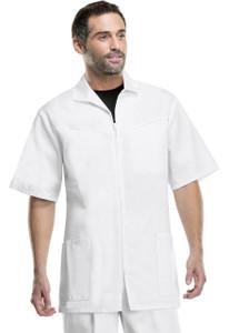 (1373) Cherokee Med Man Scrubs - Mens Zip Front Jacket