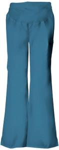(2092) Cherokee Flexibles Scrubs - Maternity Knit Waist Pull-On Pant