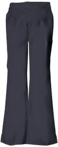 (2092P) Cherokee Flexibles Scrubs - Maternity Knit Waist Pull-On Pant (Petite)
