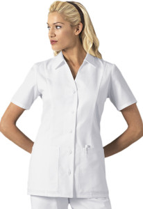 "(2879) Cherokee Professional Whites 29"" 3/4 Sleeve Lab Coat"