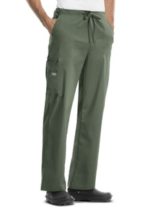 (4043) Cherokee Workwear Scrubs Core Stretch - Unisex Drawstring Cargo Pant