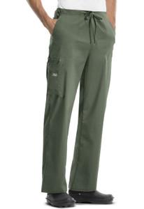 (4043) Cherokee Workwear Scrubs Core Stretch - Unisex Drawstring Cargo Pant