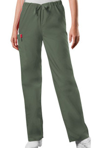 (4100T) Cherokee Workwear Scrubs Originals Unisex Drawstring Cargo Pant (Tall)