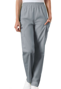 (4200T) Cherokee Workwear Scrubs Originals - Natural Rise Tapered Pull-On Cargo Pant (Tall)