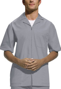 (4300) Cherokee Workwear Scrubs Originals Mens Zip Front Jacket