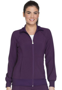 (4315) Cherokee Workwear Scrubs Core Stretch Zip Front Warm-Up Jacket