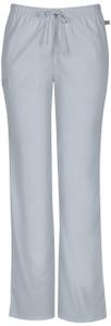 (44101AT) Cherokee Workwear Scrubs WW Flex - Mid Rise Moderate Flare Drawstring Pant (Tall)