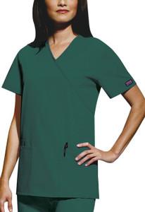 (4801) Cherokee Workwear Scrubs Originals - Mock Wrap Tunic