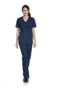 (9048) UFlex By Urbane Scrubs - UFlex V-Neck Tunic