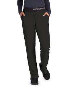 (SK202P) Skechers Vitality Logo Waist Scrub Pant (Petite)