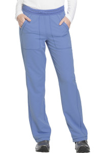 (DK120) Dickies Dynamix Mid Rise Straight Leg Pull-on Pant