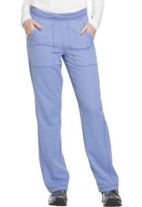 (DK120P) Dickies Dynamix Mid Rise Straight Leg Pull-on Pant (Petite)